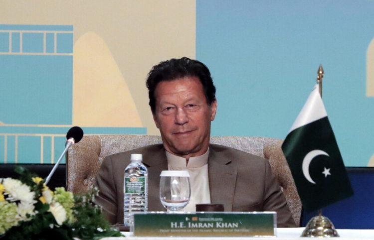 Ο πρωθυπουργός του Πακιστάν Ιμράν Χαν (φωτ.: EPA/ Chamilia Karunarathne)
