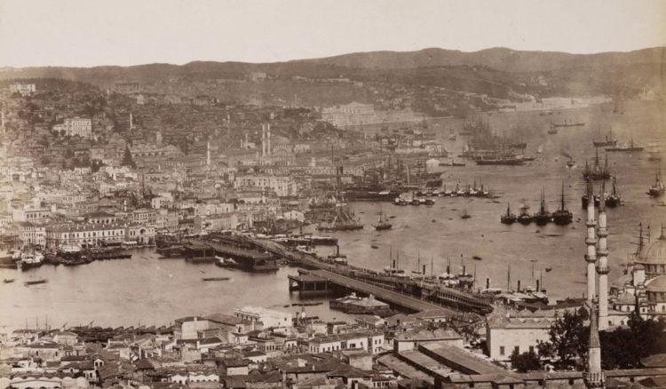 Άποψη της Κωνσταντινούπολης στις αρχές του 20ού αιώνα (φωτ.: facebook.com/ottomanpictures)
