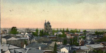Γενική άποψη του Βατούμ σε καρτ ποστάλ του 1916 (φωτ.: digital-in.info)
