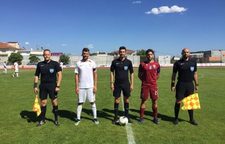 Το τελευταίο παιχνίδι του Απόλλωνα Πόντου στη Football League με την ΑΕΠ Κοζάνης (φωτ.: ΑΕΠ Κοζάνης)