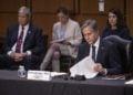 Ο Αμερικανός ΥΠΕΞ Άντονι Μπλίνκεν (φωτ.:EPA/SHAWN THEW)