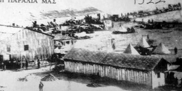 Εικόνα από το αρχείο του αείμνηστου δήμαρχου Καλαμαριάς, Μένιου Αλεξιάδη. Στο ΙΑΠΕ παραχωρήθηκε από τον Ηρακλή Μαστρογιαννάκη (Πηγή: ΙΑΠΕ/ Συλλογή Μένιου Αλεξιάδη)