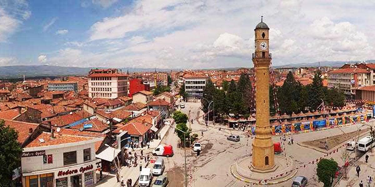 Πανοραμική άποψη του Τσόρουμ (πηγή: Türkiye Kültür Portalı)