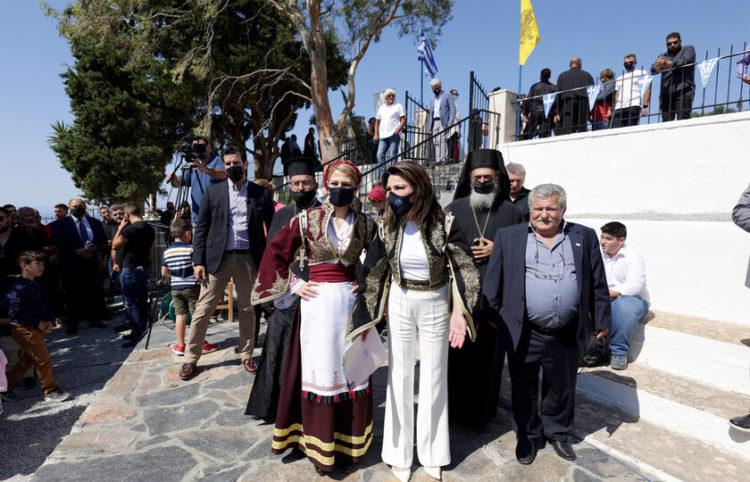 Η σημερινή εκδήλωση (φωτ.: ΑΠΕ-ΜΠΕ/ Επιτροπή «Ελλάδα 2021»)