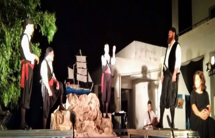 Στιγμή από την παράσταση (φωτ.: viva.gr)