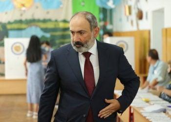 (Φωτ.: EPA/ Armenian Prime Minister Press Service)