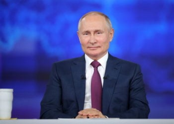 (Φωτ.: EPA/ Sergei Savostyanov/ Sputnik/ Kremlin Pool)