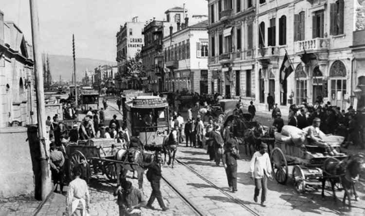 Άποψη της Σμύρνης πριν την Καταστροφή (φωτ.: Library of Congress)