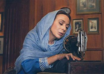 Η Χριστίνα Αλεξανιάν στην παράσταση «Τα τετράδια της Ανζέλ Κουρτιάν»