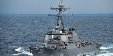 Το αντιτορπιλικό USS Laboon (φωτ.: U.S. Navy / Daniel Barker)