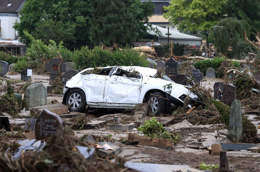 Γερμανία: Στους 103 οι νεκροί από τις πλημμύρες (video, photo)