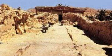 Το μνημείο στην Όαση της Σίουα, όπου υποστηρίζει η Λιάνα Σουβαλτζή πως είναι ο τάφος του Μεγάλου Αλεξάνδρου