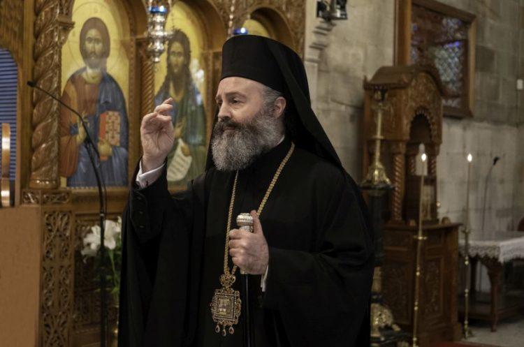 Ο Αρχιεπίσκοπος Αυστραλίας κ.κ. Μακάριος (φωτ.: ARCHIBISHOP)
