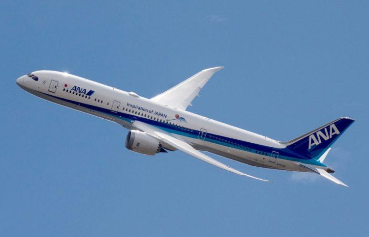 Αεροσκάφος Boeing 787 Dreamliner της ANA Airlines (φωτ.:  el.wikipedia.org/pjz2005)