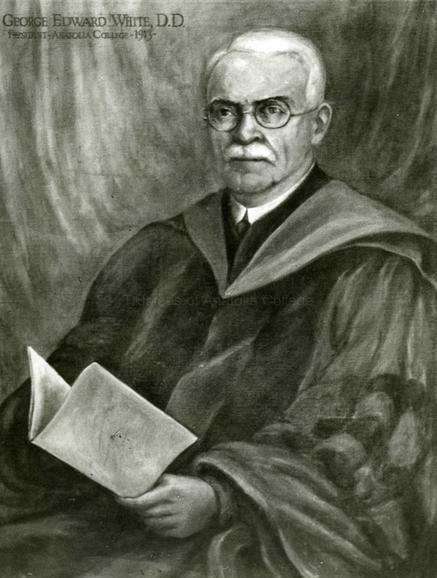 Dr George White presiden Anatolia Gollege