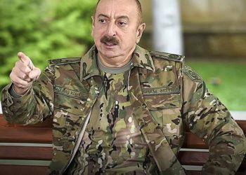 Νέες απειλές πολέμου εξαπολύει κατά της Αρμενίας ο Αζέρος πρόεδρος Ιλχάμ Αλίγιεφ (φωτό:https://zartonkmedia.com/)