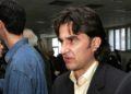 Ο Ηρακλής Κωστάρης  στις θέσεις των κατηγορουμένων στις Γυναικείες Φυλακές Κορυδαλλού, το 2005 (φωτ.: ΑΠΕ/ Παντελής Σαΐτας)