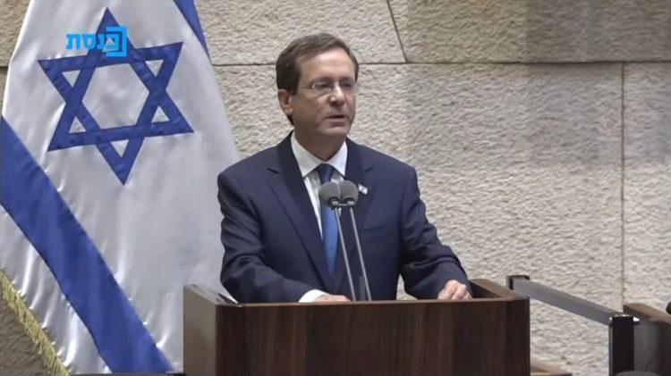 Ο νέος πρόεδρος του Ισραήλ (φωτ.: YouTube)