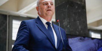 Ο υπουργός Δικαιοσύνης Κώστας Τσιάρας (φωτ.: ΑΠΕ-ΜΠΕ/ Νίκος Αρβανιτίδης)