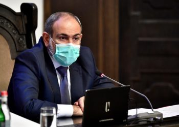 Ο πρωθυπουργός της Αρμενίας Νικόλ Πασινιάν (φωτ.: Γρ. Τύπου της κυβέρνησης της Αρμενίας)