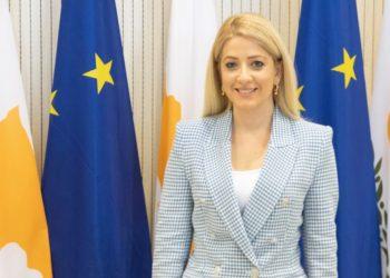 Η Πρόεδρος της Βουλής των Αντιπροσώπων της Κυπριακής Δημοκρατίας κ. Αννίτα Δημητρίου (φωτό: Κυπριακό Κοινοβούλιο)