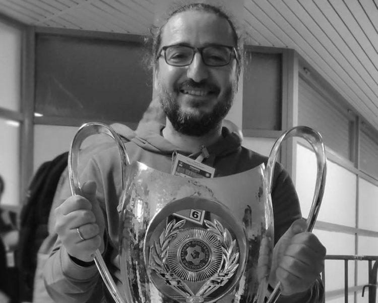 Ο αθλητικογράφος Χρήστος Παυλίδης που έφυγε νωρίς για το τελευταίο ταξίδι (φωτ.: facebook.com/PAOKFOOTBALL)