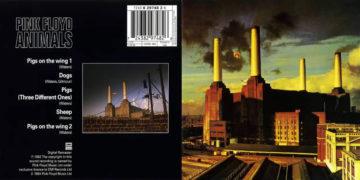 Στο εξώφυλλο του δίσκου «Animals» το εργοστάσιο ηλεκτροδότησης του Μπάτερσι στο Λονδίνο