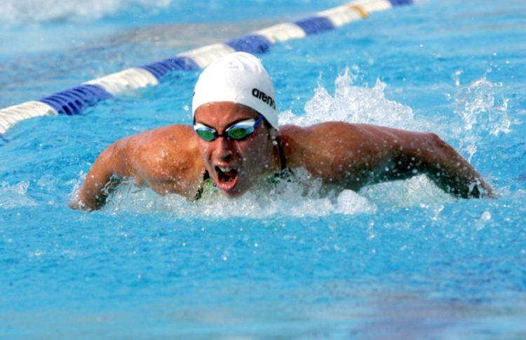 Η Άννα Ντουντουνάκη, μία από τις σπουδαίες πρωταθλήτριες κολύμβησης της χώρας