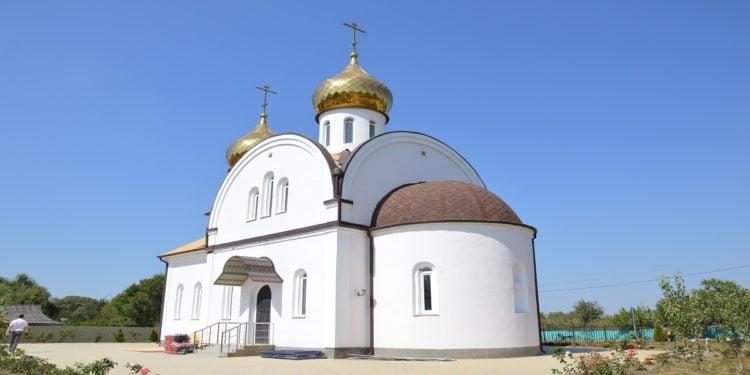 Ο ναός του Αγίου Γεωργίου στο χωριό Μερτσάνσκογιε, 2014 (φωτ.: Βασίλης Τσενκελίδης)