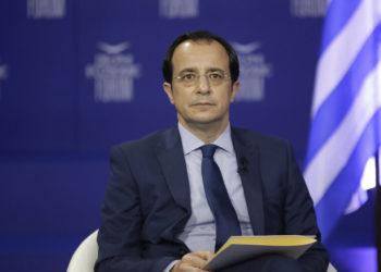 Ο Νίκος Χριστοδουλίδης (φωτ.: ΑΠΕ-ΜΠΕ/ Βάϊος Χασιάλης)
