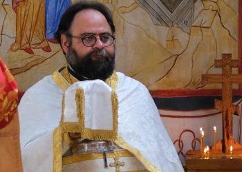 Ο αρχιμανδρίτης Δημήτριος Πλουμής (φωτ.: orthodoxtimes.com)
