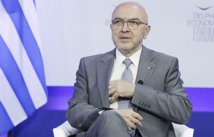 O υφυπουργός Εξωτερικών Κώστας Φραγκογιάννης (φωτ.: ΑΠΕ-ΜΠΕ / Βάιος Χασιαλής)