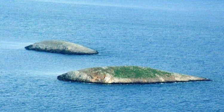 Εικόνα από τα Ίμια (φωτ.: mod.mil.gr)