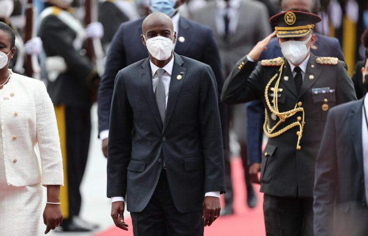 Ο πρόεδρος της Αϊτής που δολοφονήθηκε (φωτ.: EPA/Jose Jacome)