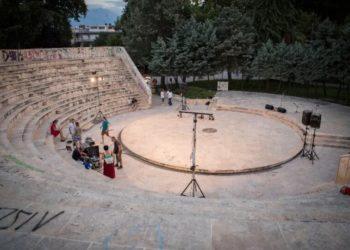 Το θεατράκι πάρκου Κατερίνης (φωτ.: festivalolimpou.gr)