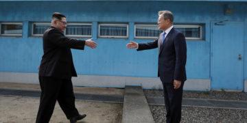 (Φωτ.: EPA/ Korea Summit Press Pool)
