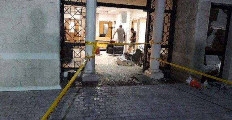 Οι καταστροφές στο Προεδρικό Μέγαρο της Κύπρου από τους διαδηλωτές
