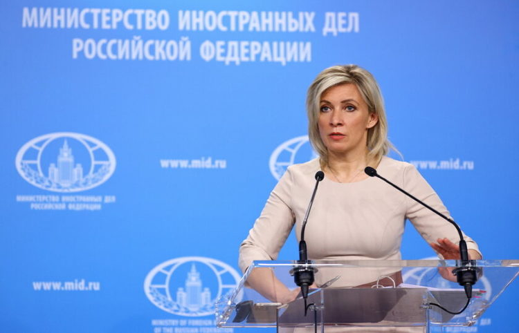Η εκπρόσωπος του ρωσικού ΥΠΕΞ (Φωτ.: EPA/ Russian Foreign Ministry)