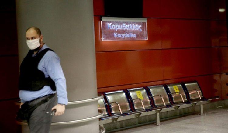 Ο σταθμός του μετρό «Κορυδαλλός» (φωτ.:ΑΠΕ-ΜΠΕ/ Ορέστης Παναγιώτου)