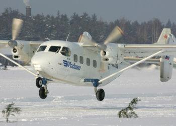 Αεροσκάφος τύπου Antonov An-28, όπως αυτό που χάθηκε (φωτ.: Dmitriy Pichugin)