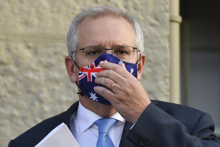 Ο πρωθυπουργός της Αυστραλίας κ. Σκόττ Μόρρισον (φωτό:miktsikas/aap)
