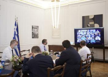 (Φωτ,: ΑΠΕ-ΜΠΕ/ Γραφείο Τύπου του Πρωθυπουργού/ Δημήτρης Παπαμήτσος)