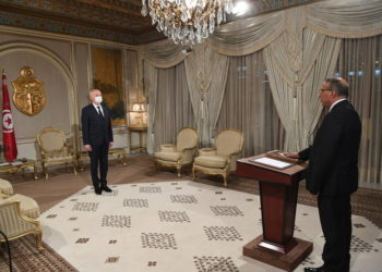 (Φωτ.: EPA/ Presidency of Tunisia Handout)