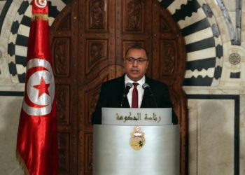 Ο πρωθυπουργός της Τυνησίας (φωτ.: EPA/ Mohamed Messara)