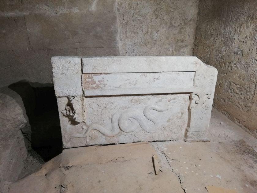 Professor Bidas: Tomb of Alexander the Great's mother was found in Korinos (PHOTOS) 3