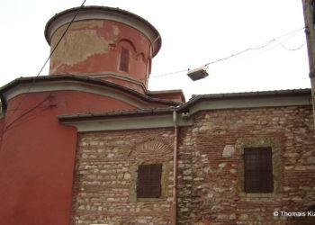 Ο ναός της Παναγίας Μουχλιώτισσας (φωτ.: Θωμαΐς Κιζιρίδου)