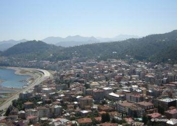 Άποψη της Κερασούντας από το Κάστρο της (φωτ.: Θωμαΐς Κιζιρίδου)