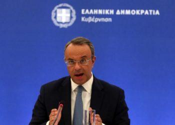Ο υπουργός Οικονομικών Χρήστος Σταϊκούρας (φωτ.: ΑΠΕ-ΜΠΕ/Αλέξανδρος Μπελτές)