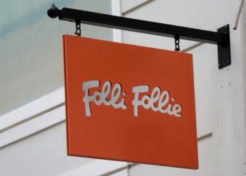 Το λογότυπο της εταιρείας Folli Follie(φωτ.: ΑΠΕ-ΜΠΕ/Παντελής Σαΐτας)
