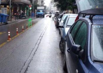 Άποψη της Μητροπόλεως στη Θεσσαλονίκη, σήμερα μετά την πρωινή βροχή (φωτ: Χ. Ιωαννίδης)